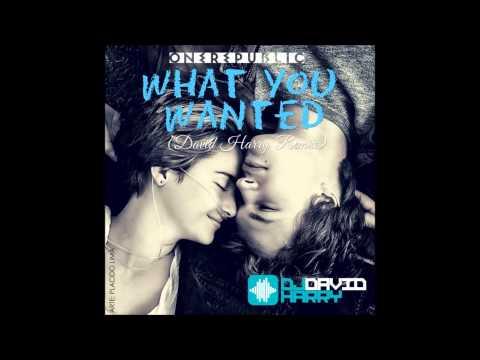 OneRepublic - What You Wanted (David Harry Radio Edit)