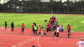 港九區D3A4中學學界田徑比賽 GC 4X400M Rela