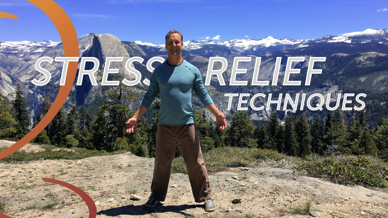 Stress Relief Techniques Qigong in Yosemite - YouTube