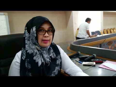 Sofia Putri Bulfiah siswi SD Negeri 1 Rawa Laut dengan nilai 291,5 menjadi peraih US SD se Lampung.