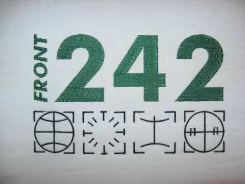 FRONT 242-TRAGEDY FOR YOU(SLO-MO) 1990.red rhino europe.