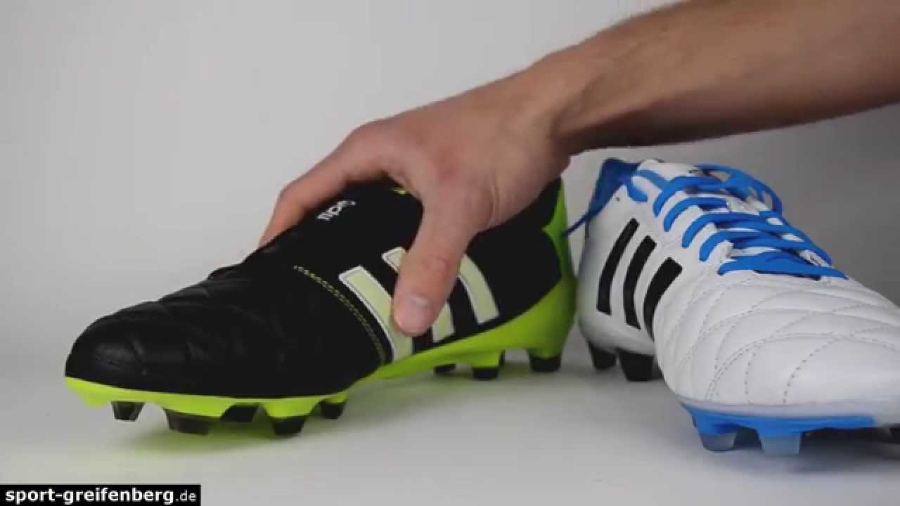 competitive price ae011 255a7 Adidas 11pro SL TRX FG gegen 11pro TRX FG Vergleich - YouTub