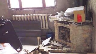 РЕМОНТ В УБИТОЙ КВАРТИРЕ #2: сделали отопление, свет и лестницу своими руками