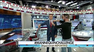 Shepard Smith & Fox News Deck Takes the #MannequinChallenge