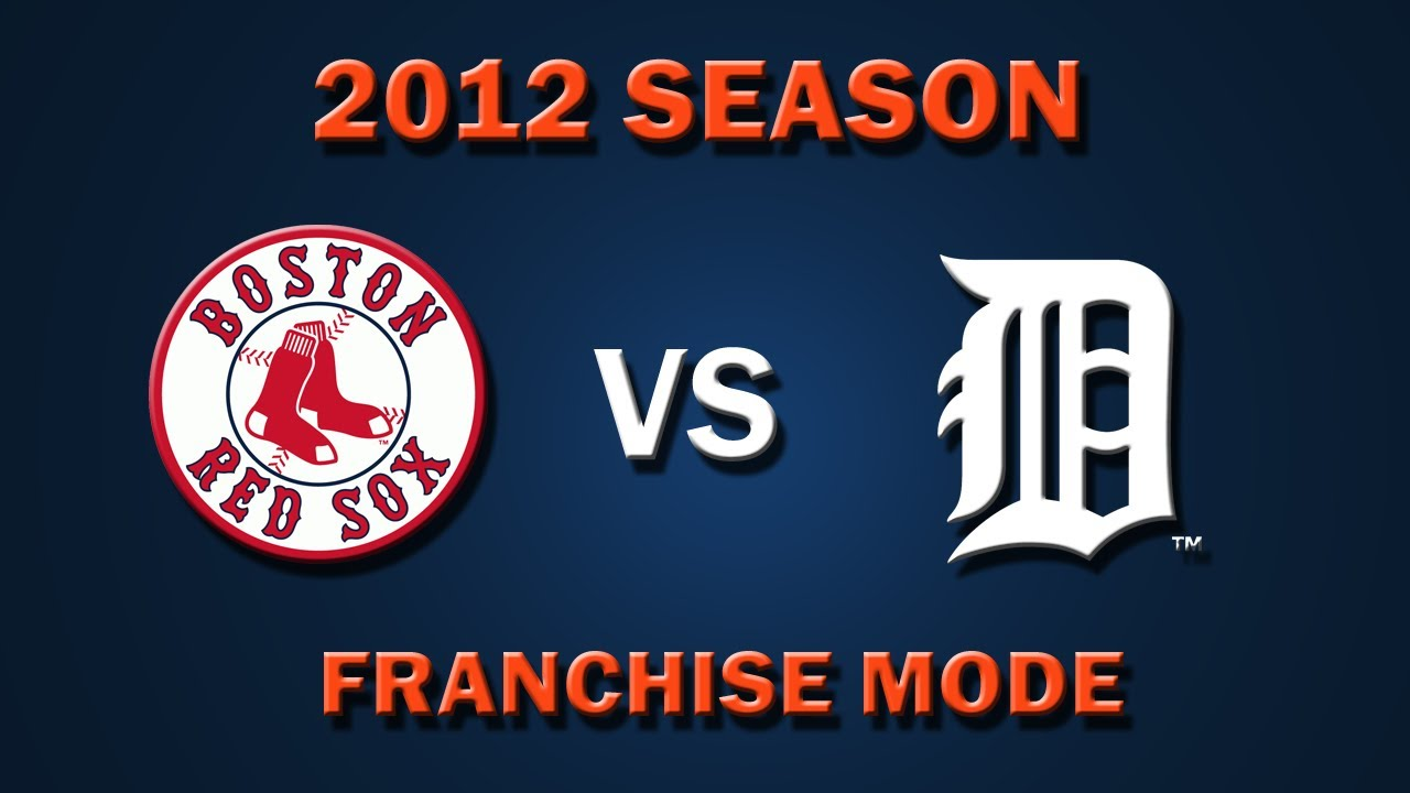 Mlb K Opening Day  Boston Red Sox Vs Detroit Tigers Franchise Mode