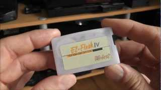 EZ-Flash IV GBA Flashcart - Roms And Homebrew - Nintendo Game Boy Advance
