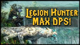 Legion Hunter MAX DPS Guide For Mythic Dungeons!