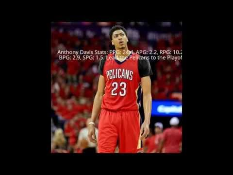 Top 5 Players In The 2014-15 NBA Season And STATS!!!!!!!!!