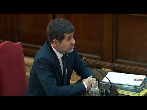 Jordi Sànchez: 'Jo amb un megàfon no sóc capaç de desmobilitzar aquella concentració'
