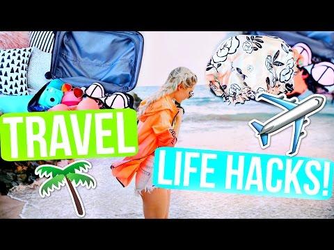 Travel Life Hacks! Save Money, Time & Space! | Aspyn Ovard