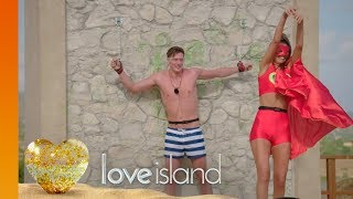 The Girls Rock Their Capes for the Girl Power Challenge | Love Island 2018