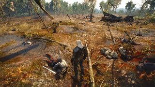 Missing in Action: Geralt and Field of Corpses (Witcher 3 | Quest)