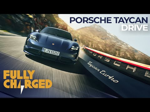 Porsche Taycan Turbo Rapid Charge Road Trip | Fully Charged