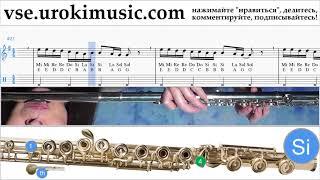 Как играть на флейте Drake - God's Plan Табы um-i821