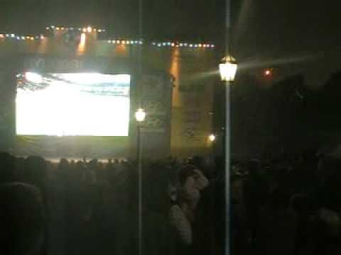 Uruguay vs Ghana. Plaza San Martín, Buenos Aires.