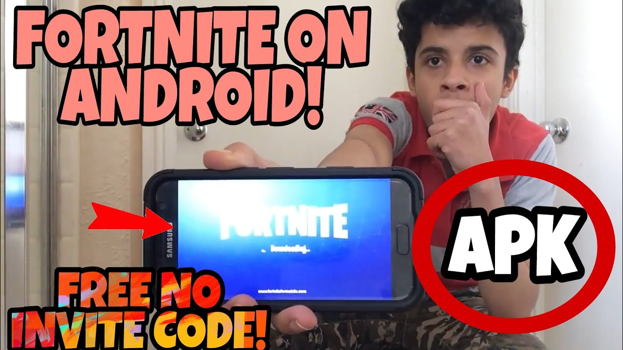 Fortnite Android Code