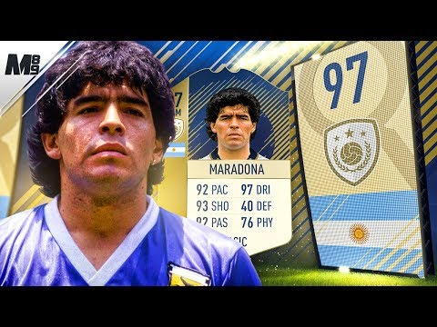 FIFA 18 PRIME MARADONA REVIEW | 97 PRIME MARADONA PLAYER REVIEW | FIFA 18 ULTIMATE TEAM