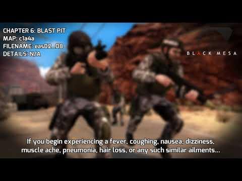 Black Mesa - Radio & EAS Transmissions