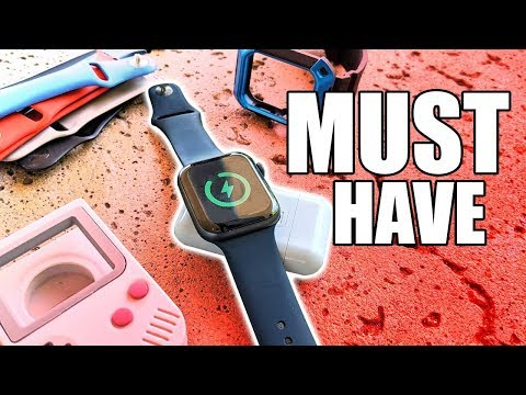 Apple Watch Must Have Accessories - Screen Protector. Case. Charger