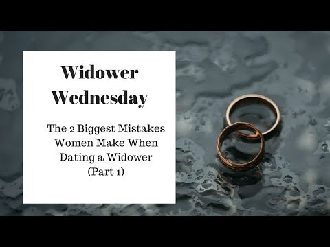 dating a widower problems