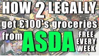 How many Asda coupons can I use in one go (Ep31)