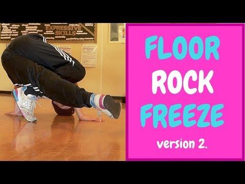 Bboy Tutorial | Floor Freeze Rocks Pt 2 | How To Breakdance | Footwork Basics
