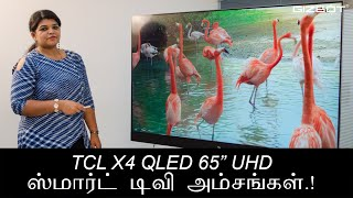 TCL X4 QLED 65-inch UHD Smart TV comes with extraordinary features. It offers exceptional imaging and audio capabilities with an array of features that we ...