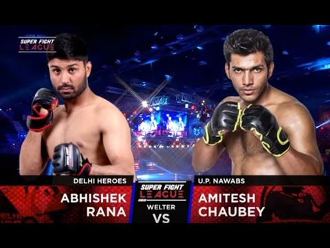 Abhishek Rana v/s Amitesh Chaubey | Delhi Heroes v/s UP Nawabs