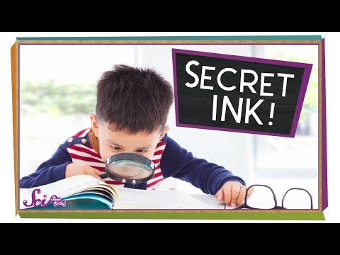 Video image: Make your own secret ink!
