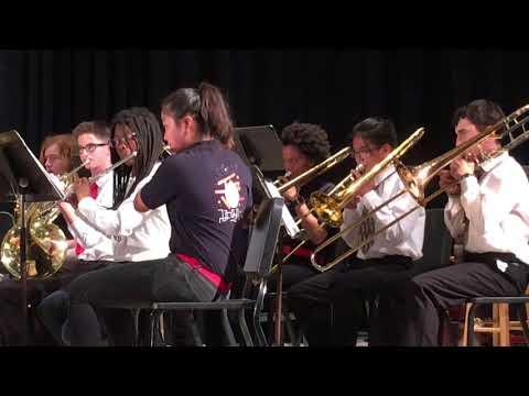 Stanford middle school concert end 2017-2018