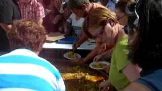 La Gran Paella De Las Fiestas De DoÑa Maria 2009