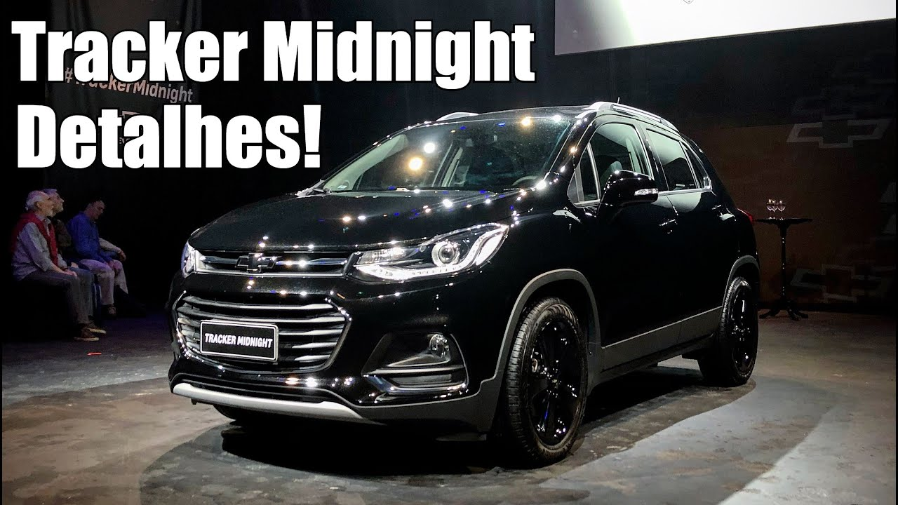Chevrolet Tracker Midnight 2019 - Falando de Carro - YouTube