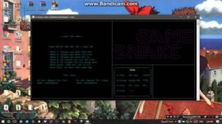 Console_Menu game C++
