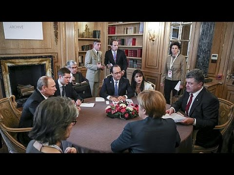 Leaders agree four-way talks on Ukraine crisis in Minsk on Wednesday