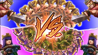 "Clash of Clans - ""ARCHERS VS BARBARIANS!"" BATTLE OF THE SEXES! Which One Will Win?"