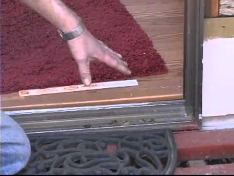 Replacing Sliding Glass Doors: Measurements