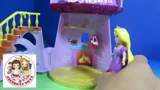 Magiclip Rapunzel Castle Disney Princess Little Kingdom Unboxing Review