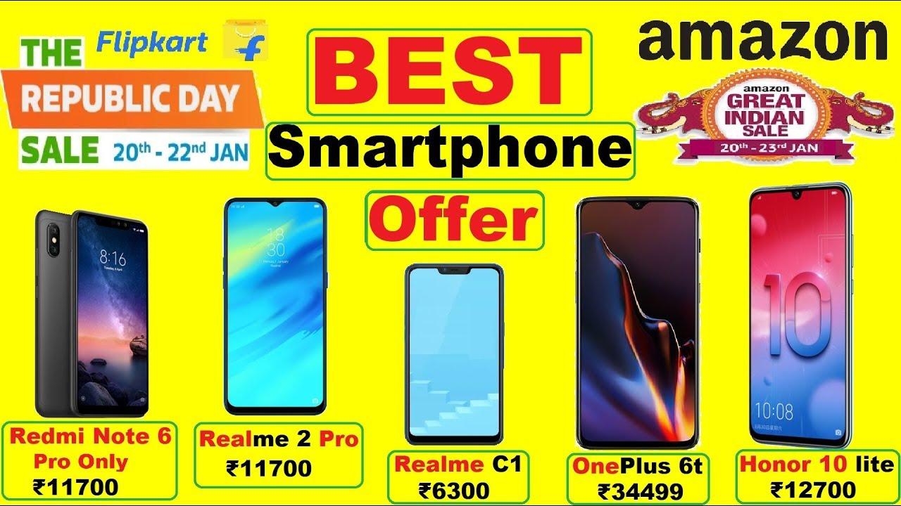 6eb0903dc40 Best Smartphone Offers in Flipkart Republic day sale   Amazon Great Indian  Sale