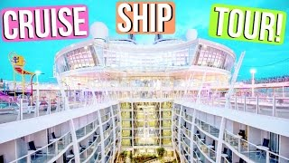 TOUR OF THE BIGGEST CRUISE SHIP IN THE WORLD!