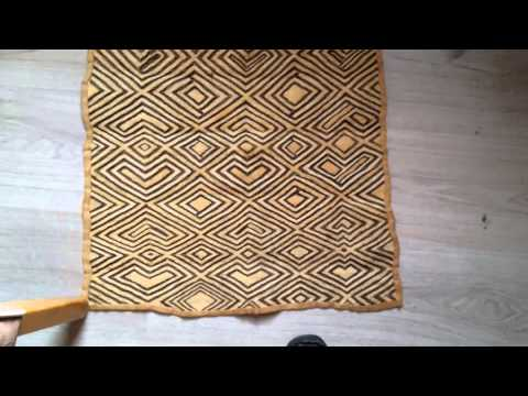 kuba tribal African cloth