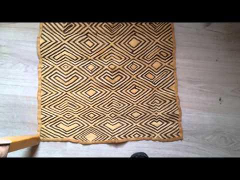 kuba tribal African cloth