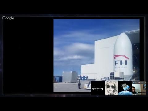 Lançamento do Zenit Com o AngoSat