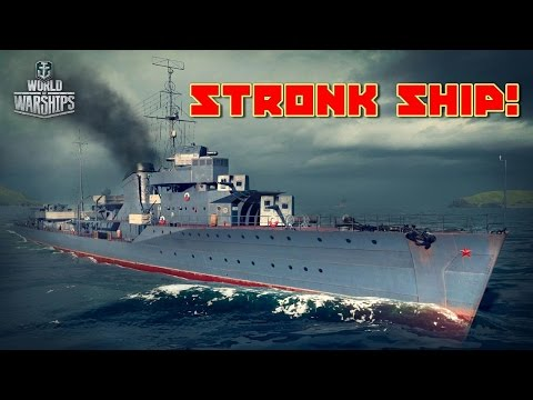 World of Warships - Stronk Ship!