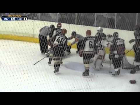 Jack Lee vs Thomas Stuart-Dant NIHL fight 21-11-15