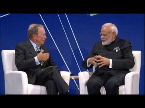 PM Shri Narendra Modi delivers keynote address at Bloomberg Global Business Forum