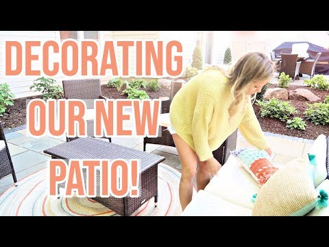 DECORATE WITH ME 2019 // SPRING DECOR FOR PATIO // OPALHOUSE