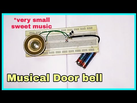 Musical door bell | DIY project by Free Circuit Lab