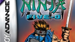 CGR Undertow - NINJA-FIVE-O review for Game Boy Advance