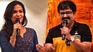 """We need a Stylish heroine like Soundarya Rajinikanth""    Actor Vivek   VIP 2  TN 248"
