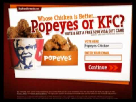 popeyes discount